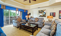 Elegant 3 bed, 3 bath vacation condo on Reunion Resort, great preserve view