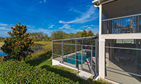 The Shire at Westhaven 4 Bed 4 Bath Luxury Florida Villa with private pool & spa and fantastic views overlooking a natural lake
