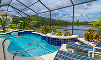 Sunset Lakes - Luxury 4 Bedroom 3 Bath Villa close to Orlando theme parks
