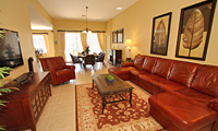 Windsor Hills Resort - Luxury 4 Bedroom (All with 32 Inch TV) 4 Bath (All Ensuite) Orlando Rental Villa with Disney and Princess Themed Twin Rooms, Pool, Spa and Gamesroom featuring Wii System, Plus Wireless Internet Access