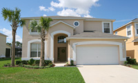 Emerald Island Resort Luxury 6 Bedroom 5 Bath Orlando Villa with South Facing Pool, Spa and Gamesroom