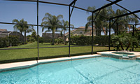 Formosa Gardens - Formosa Palm Villa - 4 Bedroom 3 Bath Orlando Villa with large pool/spa, Game Room & Den