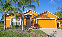 Watersong - ORANGE FLOWER - Luxury 3 Bedroom 2 Bath Florida Villa, with 30ft Pool, overlooking a lake and conservation areas