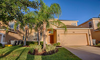 Watersong Resort Luxury 4 Bedroom 3 Bath Orlando Villa with Large Pool Deck
