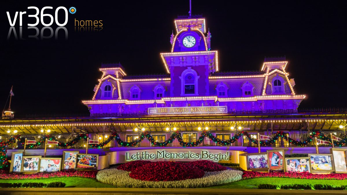 Magic Kingdom Entrance in Orlando