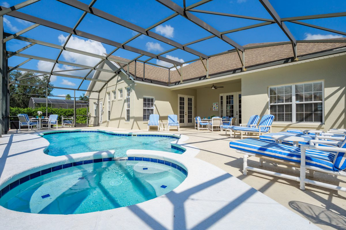 Book your Orlando Villa Pool Heating direct with the owner
