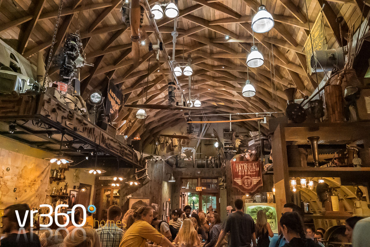 Inside the Jock Lindsey's Hangar Bar